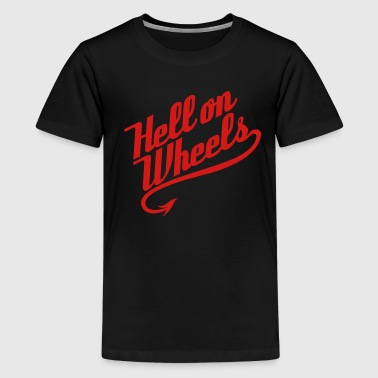 Hell on Wheels 1c - Kids' Premium T-Shirt