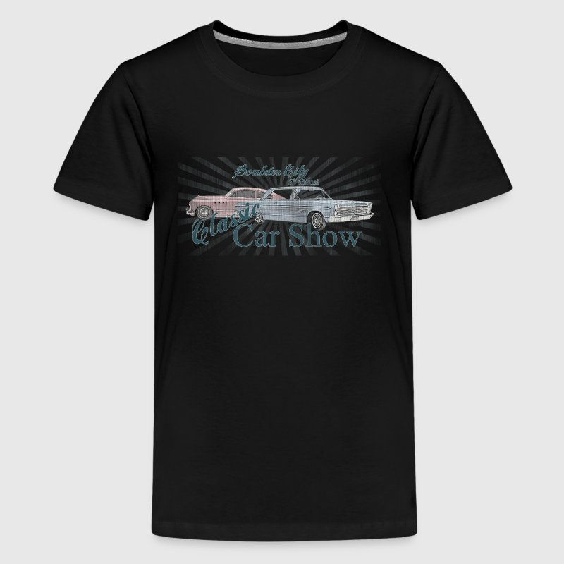 classic car show - Kids' Premium T-Shirt