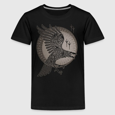 Raven And Moon RAVEN - Kids' Premium T-Shirt