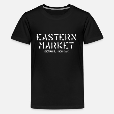The Gem State Eastern Market Detroit Michigan  - Kids' Premium T-Shirt