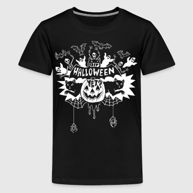 Is it Halloween yet? - White Lines - Kids' Premium T-Shirt
