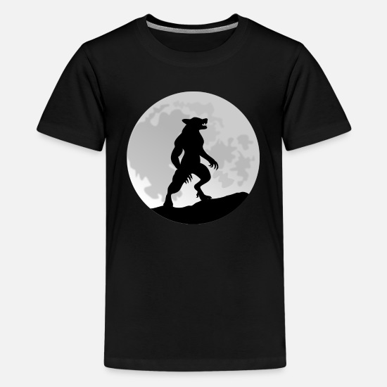 Cool T-Shirts - Werewolf - Kid's - Kids' Premium T-Shirt black