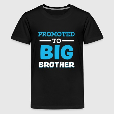 Funny Boys Promoted to Big Brother Shirt - Kids' Premium T-Shirt