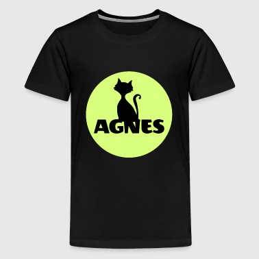 Agnes Agnes first name name personal gift cat - Kids' Premium T-Shirt