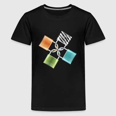 lock - Kids' Premium T-Shirt