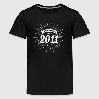 Awesome since 2011 - Kids' Premium T-Shirt