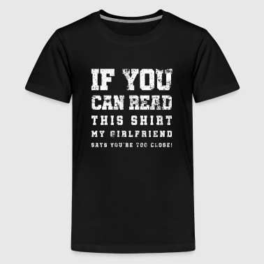 Witty Kids If you can READ this T-Shirt Funny Witty - Kids' Premium T-Shirt