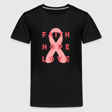 Superhero Faith Love Hope - Kids' Premium T-Shirt