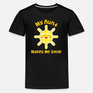 Aunt And Nephew Aunt Niece Nephew Cute - Kids' Premium T-Shirt
