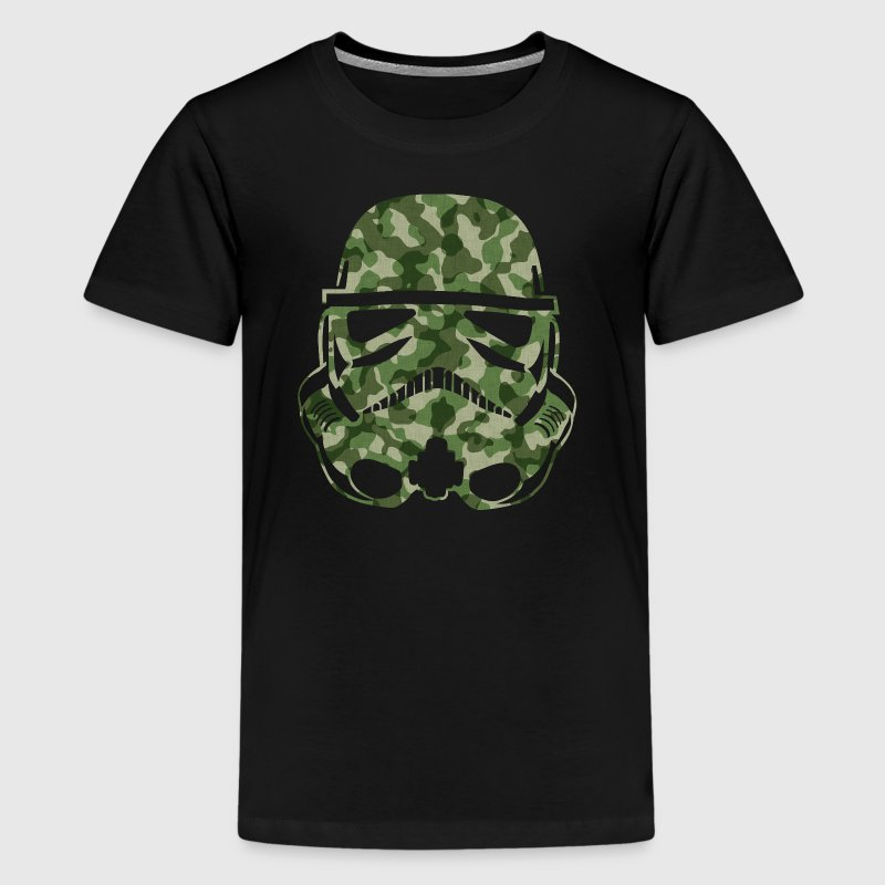 Camo Trooper - Kids' Premium T-Shirt