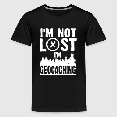 I'm not lost I'm geocaching - Kids' Premium T-Shirt