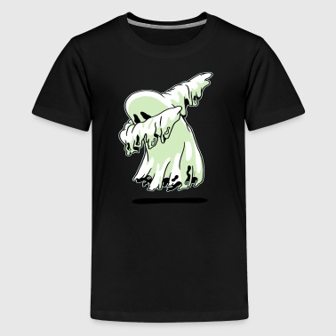 Dabbing Ghost Shirt Funny Halloween Monsters Kids - Kids' Premium T-Shirt
