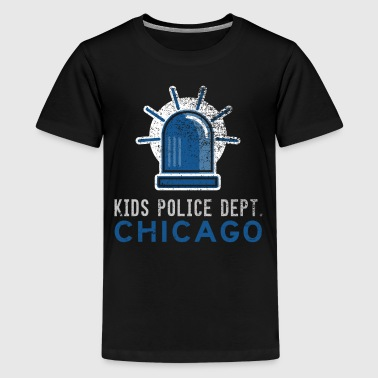 Future Police Officer Police Kids Chicago Shirt - Kids' Premium T-Shirt