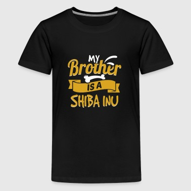 My Brother Is A Shiba Inu - Kids' Premium T-Shirt