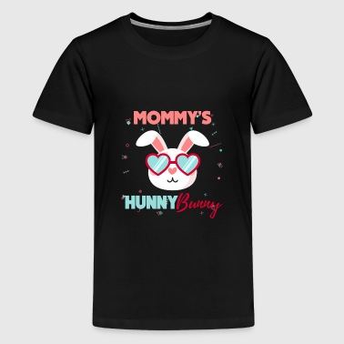 Kids Mommy's Honey Bunny Cute Easter Youth Design - Kids' Premium T-Shirt
