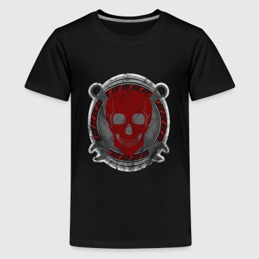 mechanic skull tools rugged gift idea - Kids' Premium T-Shirt