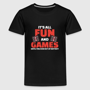Game Of Drones DRONE - It's all fun and games! - Kids' Premium T-Shirt