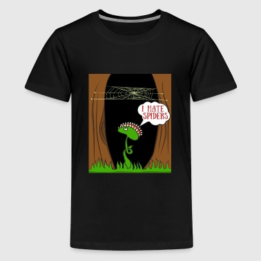 Venus Flytrap Plant meat eat fly spider web - Kids' Premium T-Shirt
