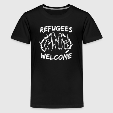 Refugees - Kids' Premium T-Shirt