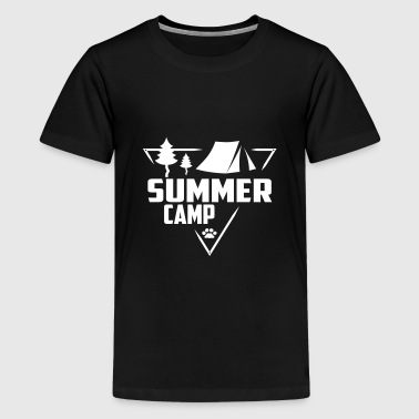 Kids Camping Summer Camp - Scouts, Kids, Holidays - Kids' Premium T-Shirt