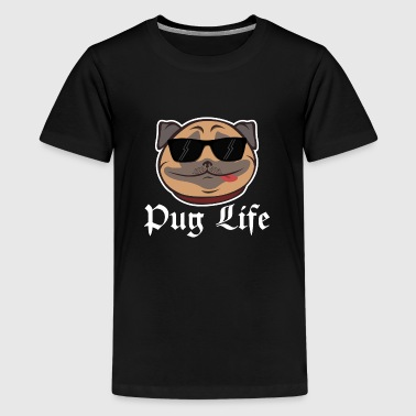 Dog dogs pet bark wow pug wau pet sweet gift idea - Kids' Premium T-Shirt