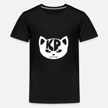 Kp Kid's T-Shirt KP Cat in White - Kids' Premium T-Shirt