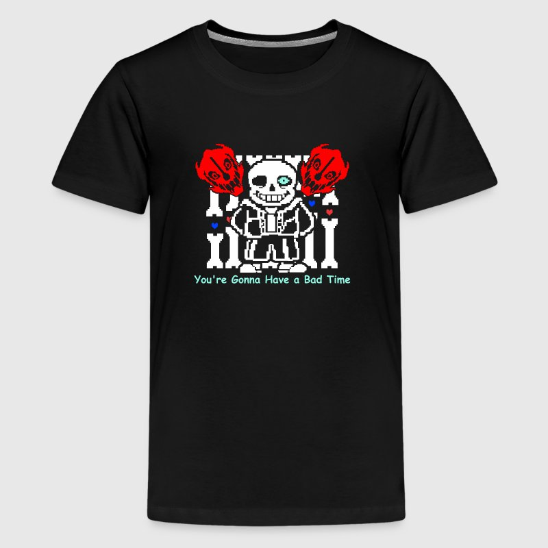 Undertale_Sans_Bad_Time - Kids' Premium T-Shirt