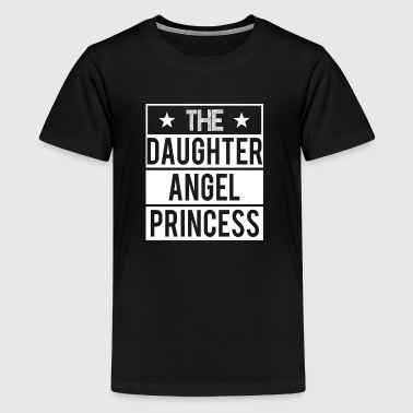 Daughter - Angel - Princess - Kids' Premium T-Shirt