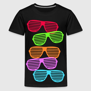 Retro Sunglasses - Kids' Premium T-Shirt