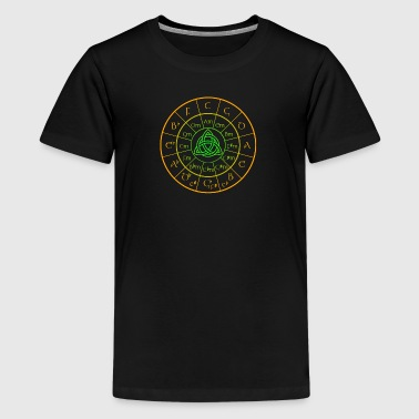 Circle Of Fifths Celtic Cir 5th - Kids' Premium T-Shirt