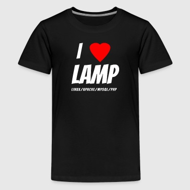 I Love LAMP Stack T-Shirt - Kids' Premium T-Shirt