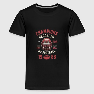 Champions Brooklyn College Football Clothes - Kids' Premium T-Shirt