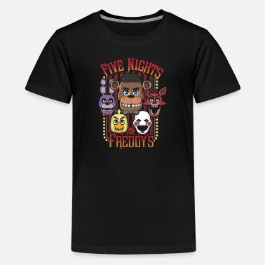 Five Dollar Five Nights At Freddy's Multi Character - Kids' Premium T-Shirt