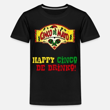 August Cinco De Mayo Holiday Mexican Drinko2 - Kids' Premium T-Shirt