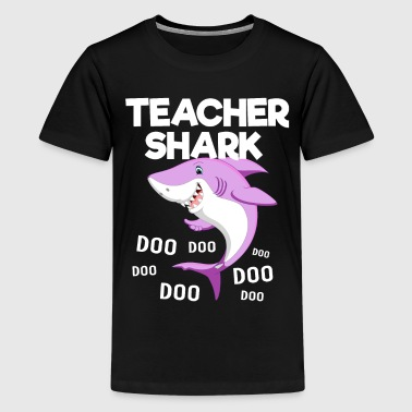 Teacher Shark doo doo doo - Kids' Premium T-Shirt