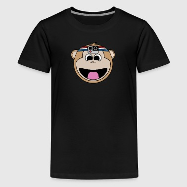 Happy Monkey - Kids' Premium T-Shirt