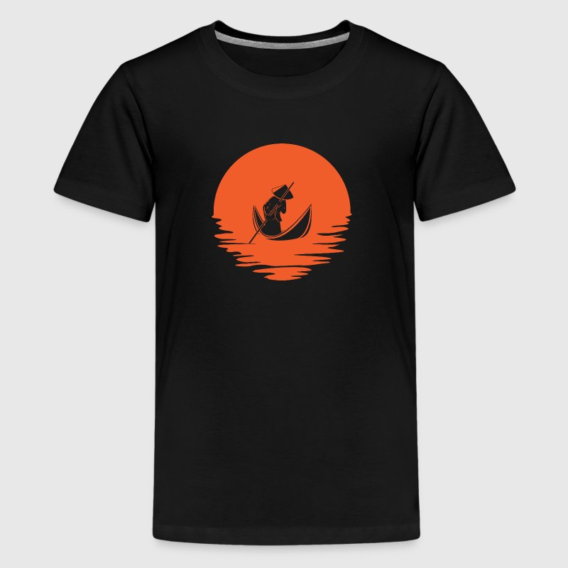 Asian River emblem - Kids' Premium T-Shirt