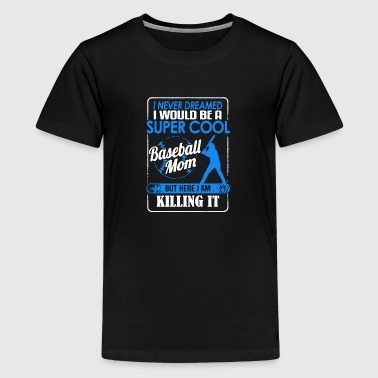 Bling Baseball Mom Apparel Baseball Mom Shirt - Kids' Premium T-Shirt