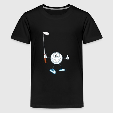 Funny Golf golf3 - Kids' Premium T-Shirt