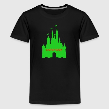 Earsfirst green castle - Kids' Premium T-Shirt