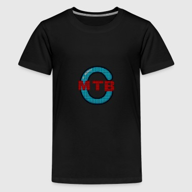 Caleb mtb YouTube channel designer T-shirt - Kids' Premium T-Shirt