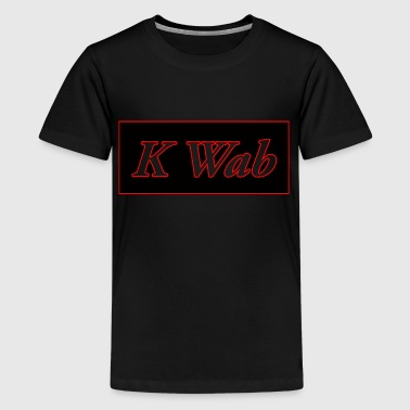 ShirtLogo with Red stroke.png - Kids' Premium T-Shirt