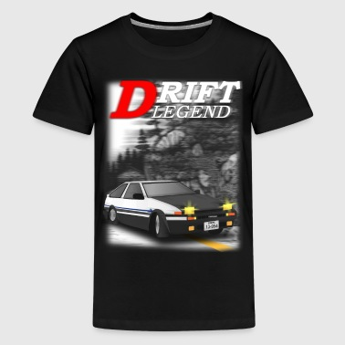Japanese Cars drift legend - Kids' Premium T-Shirt
