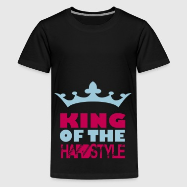 king of the hard style - Kids' Premium T-Shirt