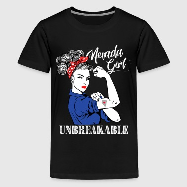 Nevada Girl Unbreakable - Kids' Premium T-Shirt
