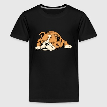 English Bulldog - Kids' Premium T-Shirt