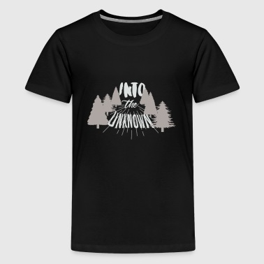 T-Shirt Excursion into the unknown! White - Kids' Premium T-Shirt
