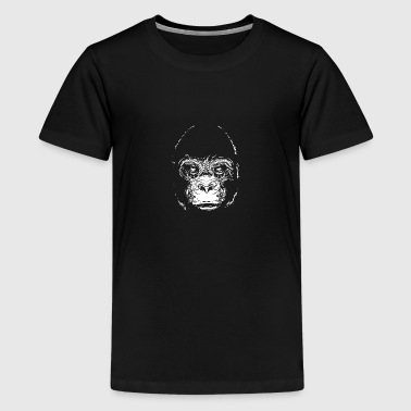 Head of a gorilla - Kids' Premium T-Shirt