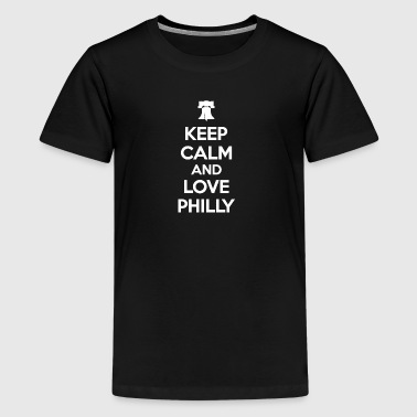 Keep Calm and Love Philly - Kids' Premium T-Shirt