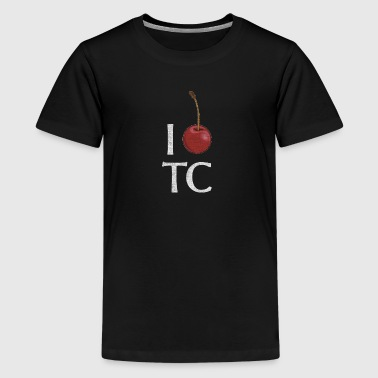 Classic I Cherry Traverse City Michigan - Kids' Premium T-Shirt